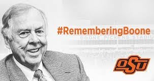 Oklahoma State says Thanks Boone with celebration of his life
