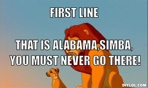 2845843 thats hull simba you must never go there meme generator first line