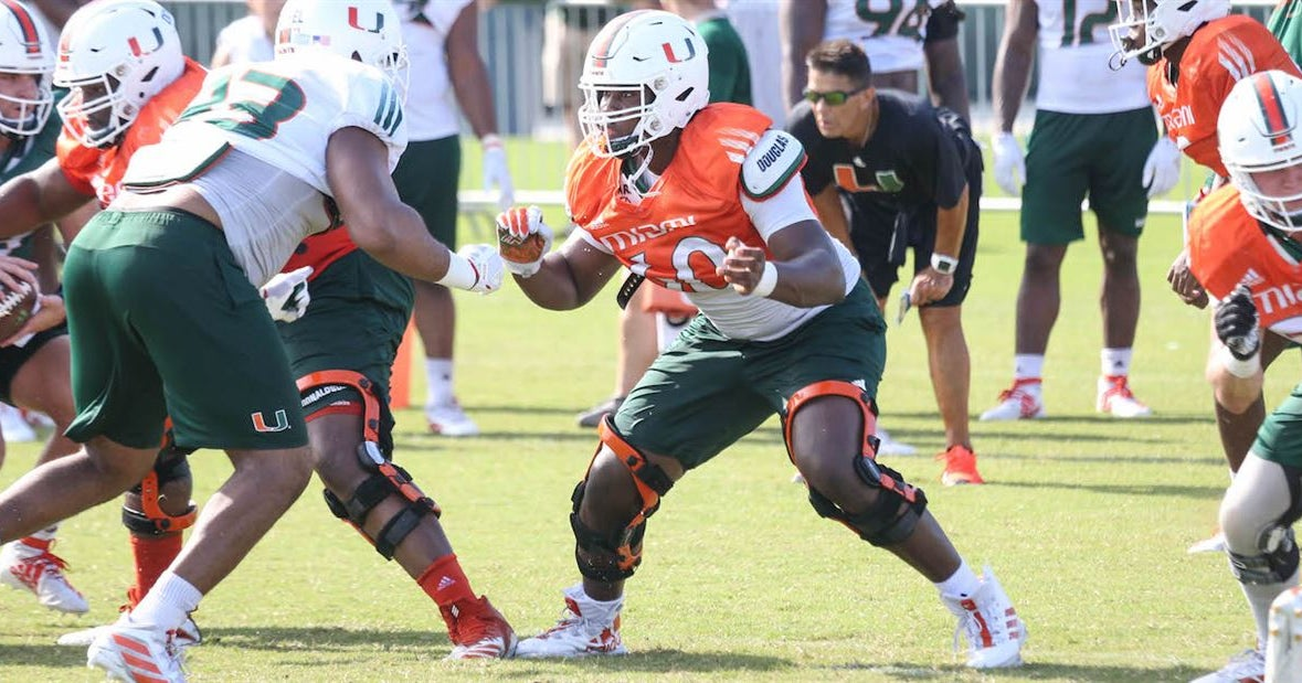 UM not phased by two freshman offensive tackles starting vs. UF