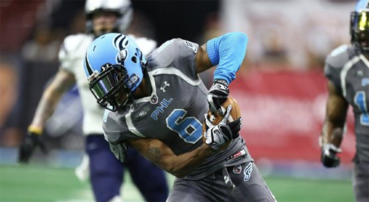 Eagles sign Philadelphia Soul WR Darius Prince