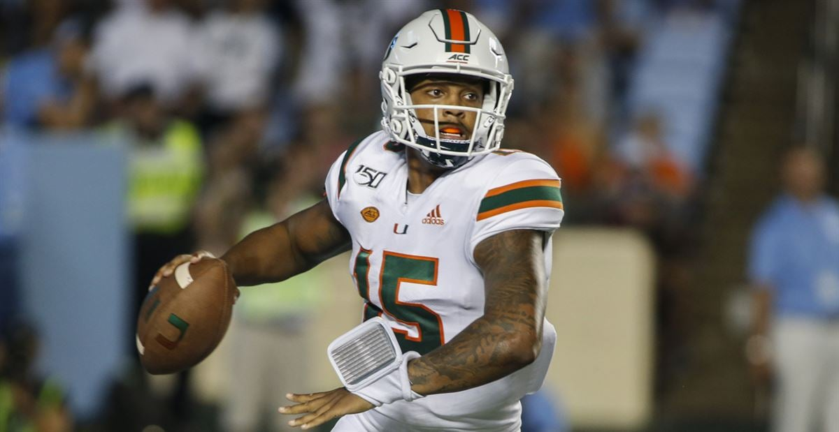 Passing game lacking big plays for the Hurricanes