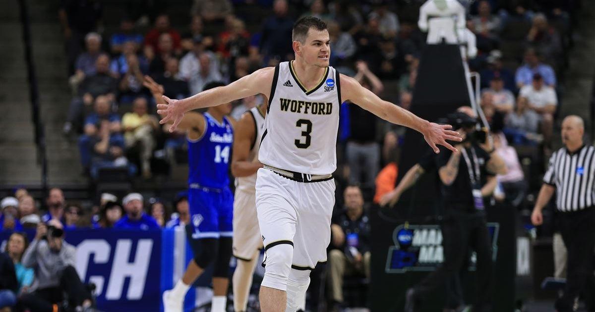 4c3eaa053b62 Kentucky draws sharp-shooting Wofford in NCAA second round