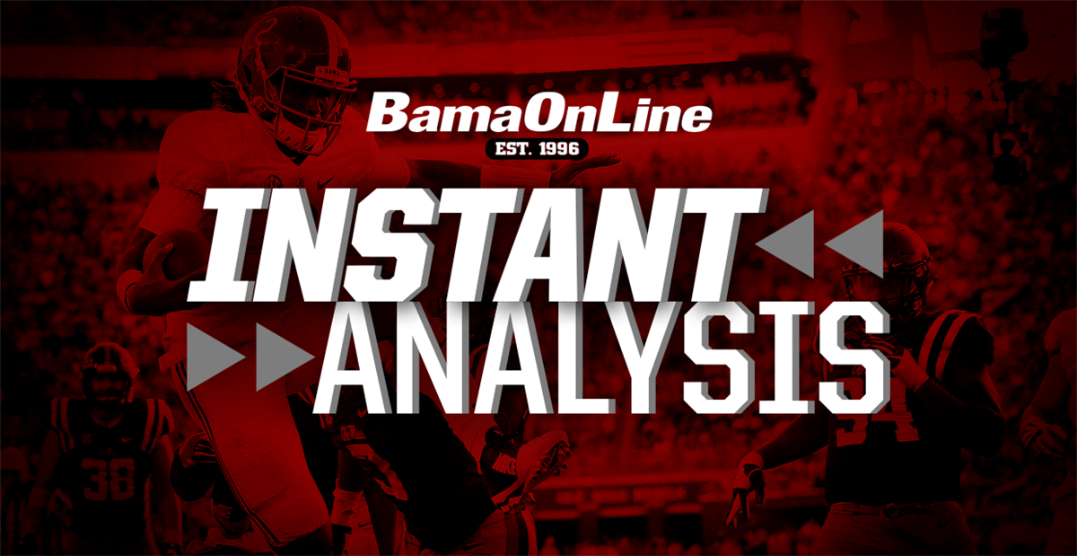 Instant Analysis: Crimson Tide cranks up fall camp