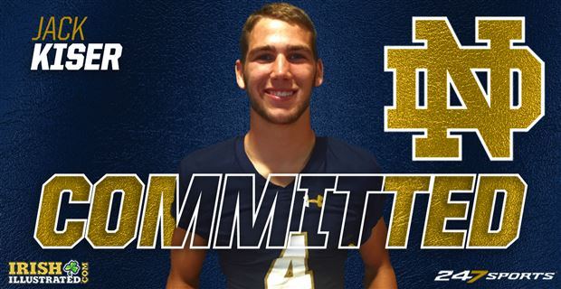 BREAKING: In-state linebacker Jack Kiser commits to Notre Dame