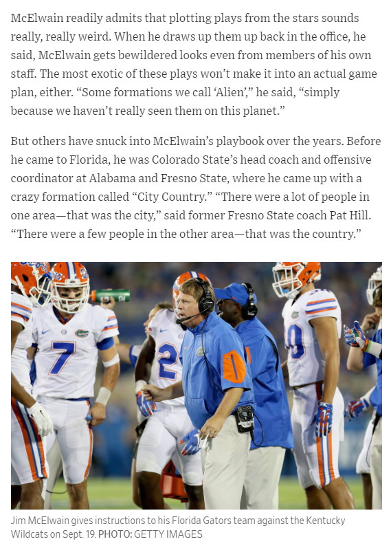 Jim Mcelwain And The Single Back Peyote Attack