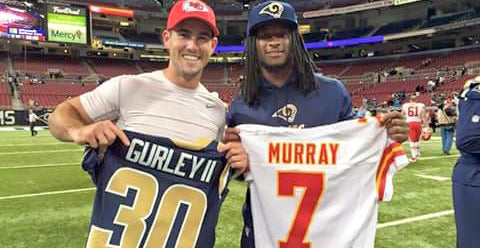 aaron murray jersey