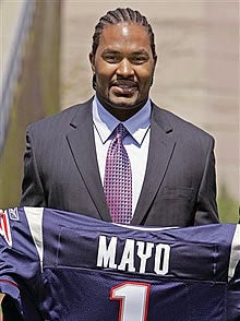 Jerod Mayo, New England, Linebacker