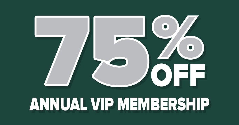 SALE! 75% off 1-year Spartan Tailgate VIP membership