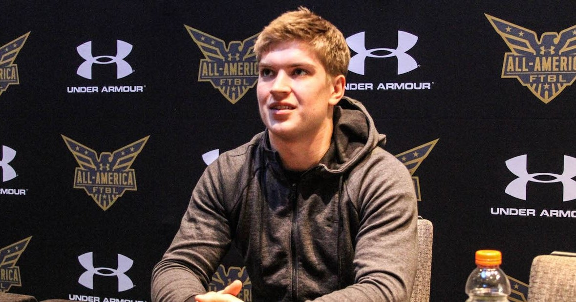 Under Armour Game, then Northwestern for LB Michael Jansey