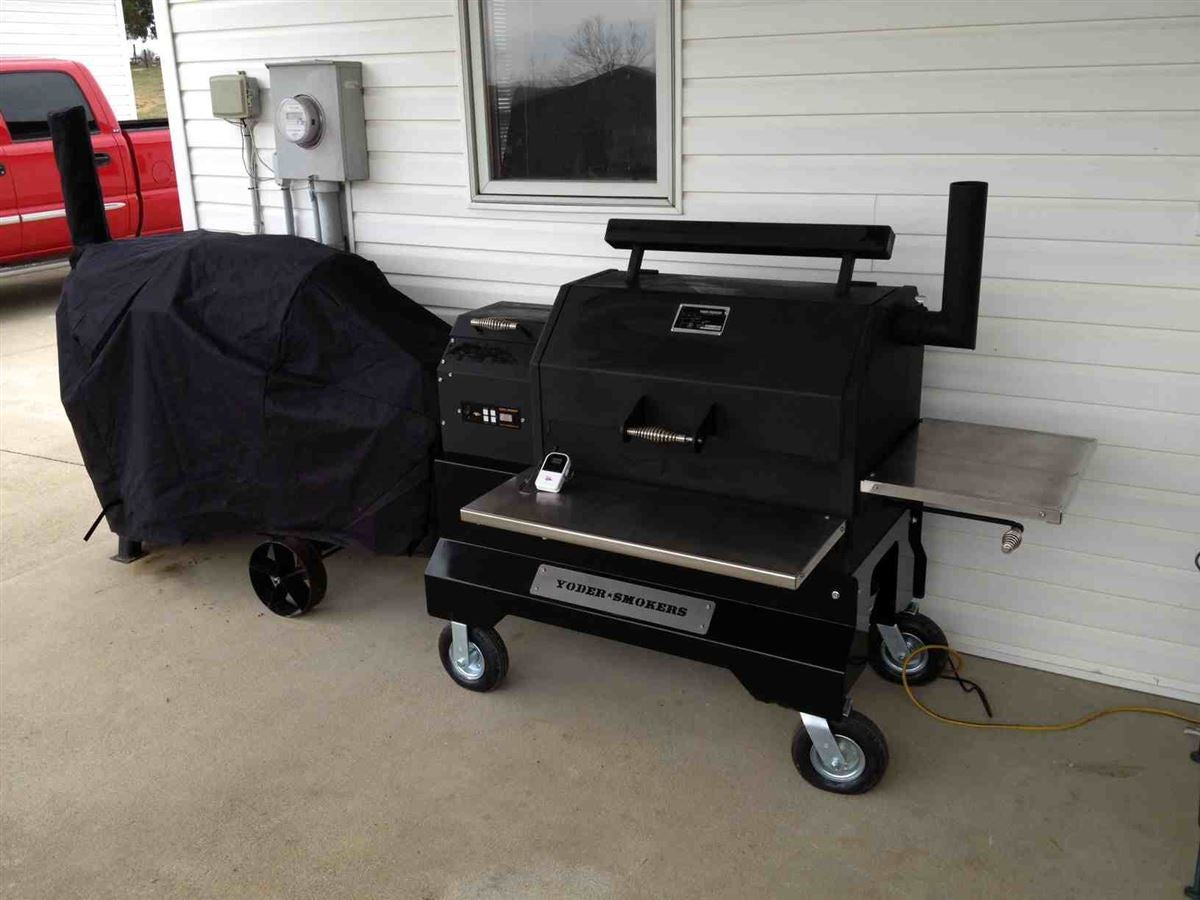 Decision Time: Yoder Smoker or Blaz'n Grill Works Smoker?