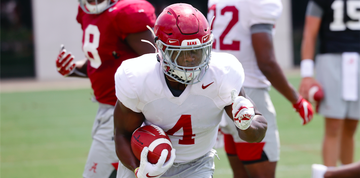 Brian Robinson Returned To Become Complete Running Back