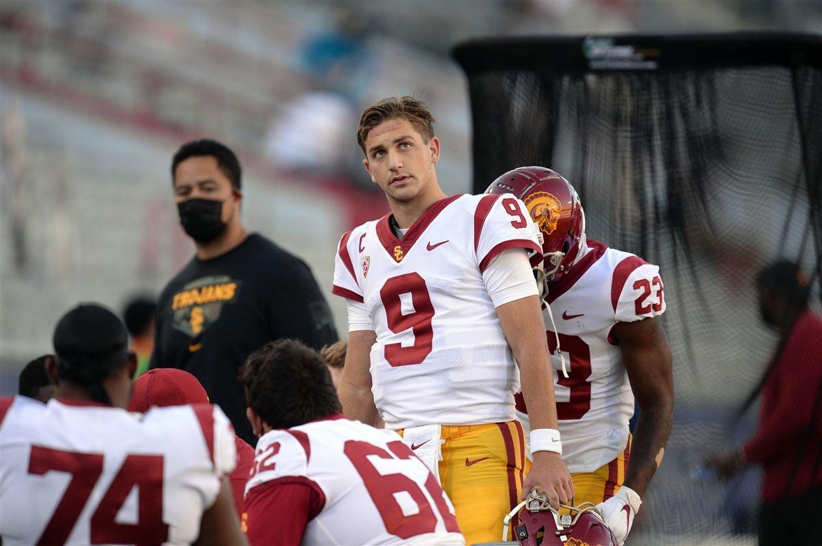David Pollack: Kedon Slovis 'doesn't look good' despite USC wins