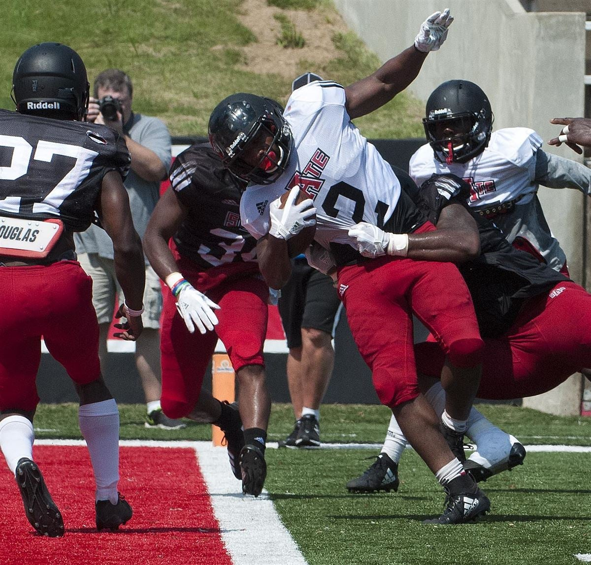 Second Arkansas State Scrimmage