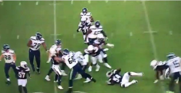 VIDEO: Chris Carson TD called back by penalty