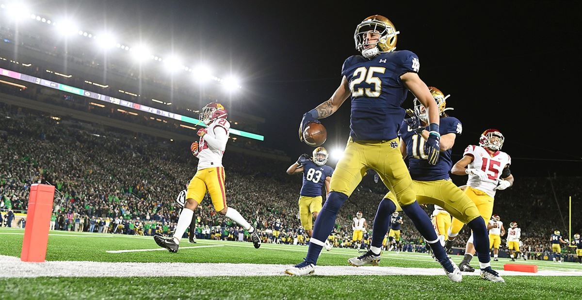 USC-Notre Dame: Tale Of The Tape (Offense)