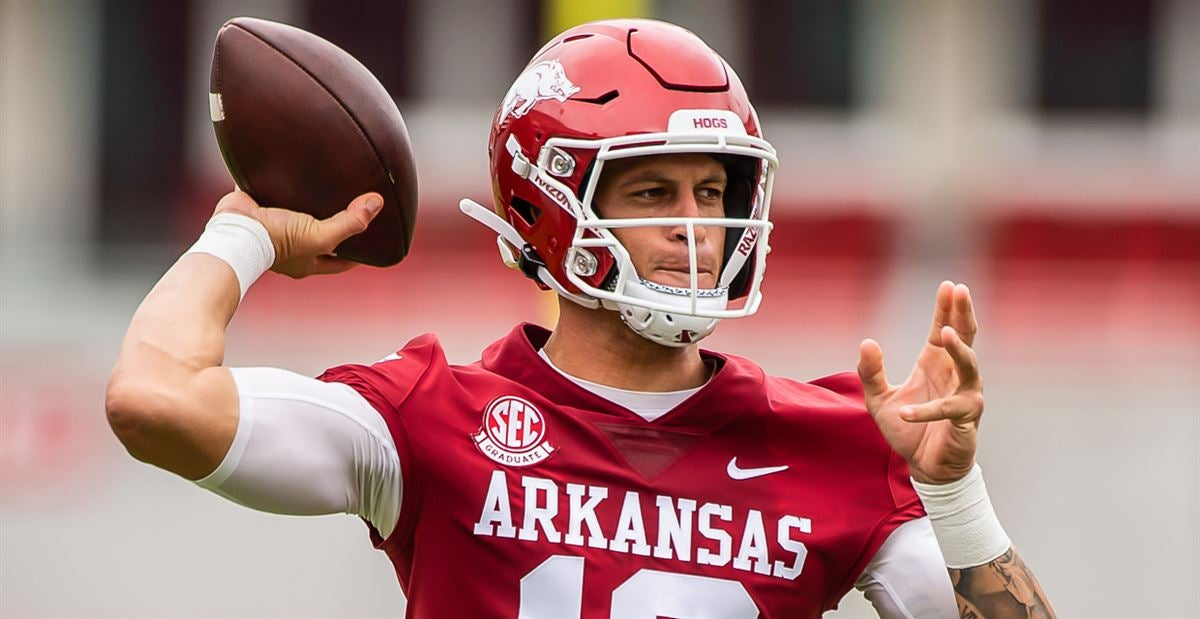 No Or At Qb On The Depth Chart Franks To Start For Hogs