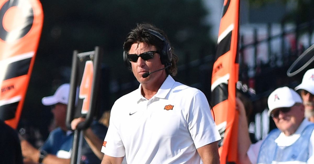 Gundy sees Klieman as a 'really good hire'