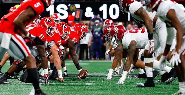 National title game halftime notes: Alabama vs. Georgia