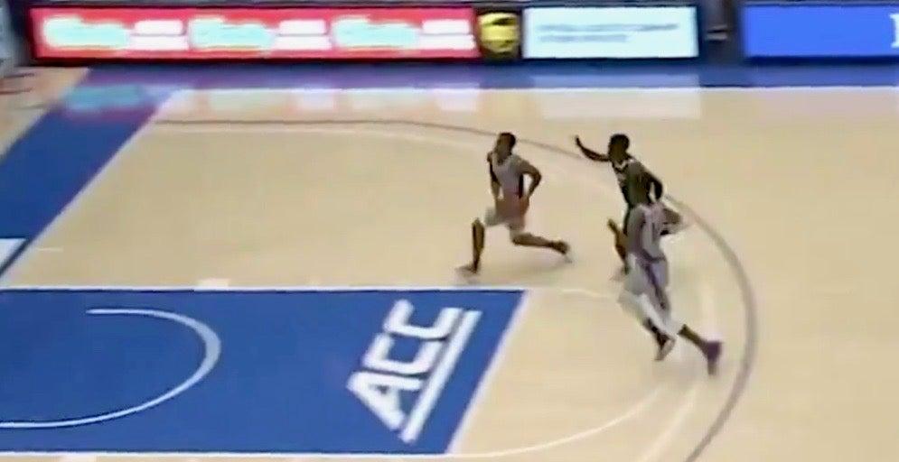 WATCH: Duke's Cassius Stanley glides in for sick dunk