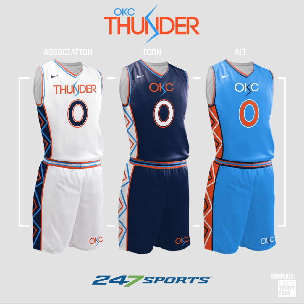 quality design a6cc9 26f27 Look: NBA uniform concepts for some of the league's best teams