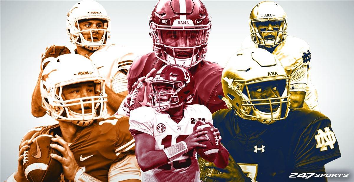 Inside college football's high-profile QB battles