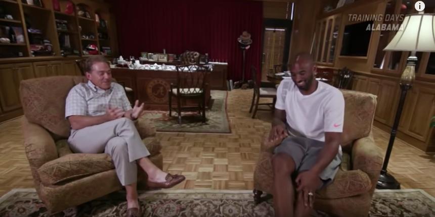 Saban, Kobe sit-down in Episode 2 of 'Training Days' series