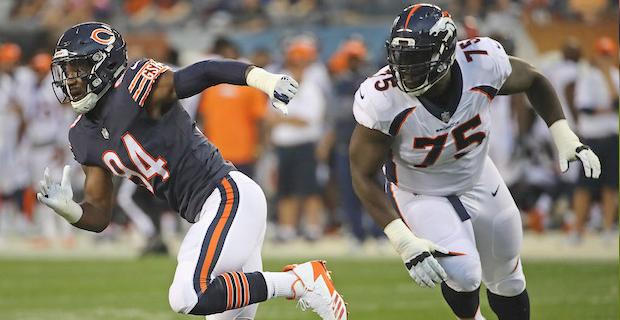 Report: Broncos to release injured OL Menelik Watson