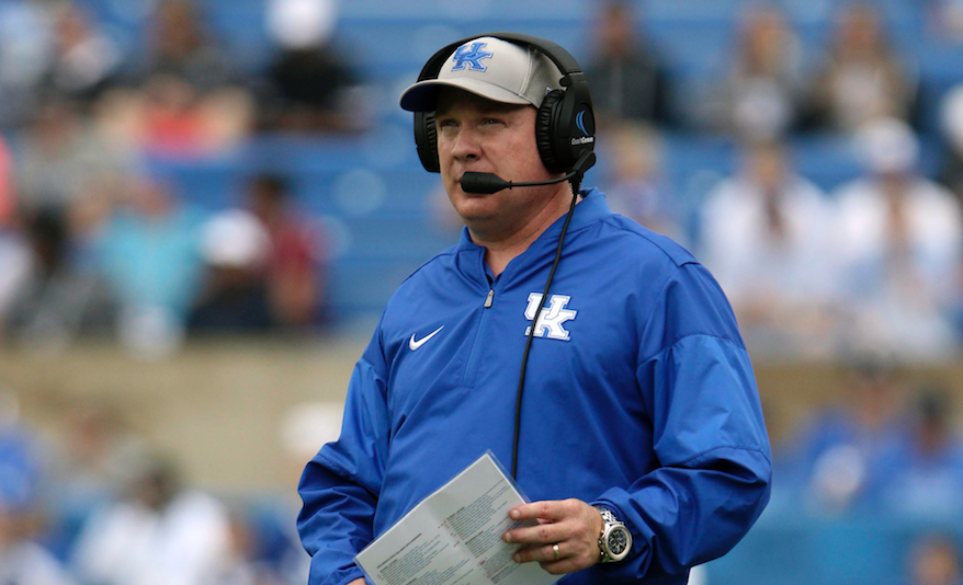 Q&A || Mark Stoops discusses UK's first spring scrimmage