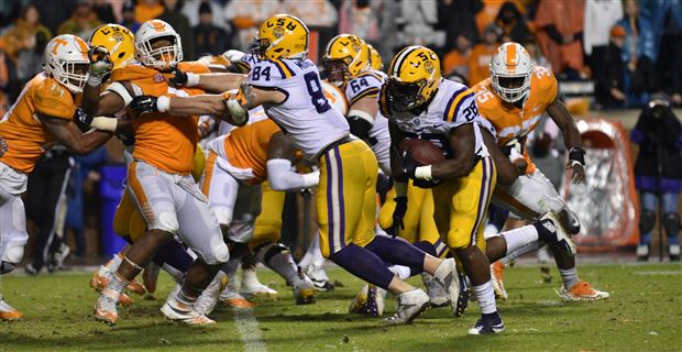 Photos: LSU's win over Tennessee in a monsoon