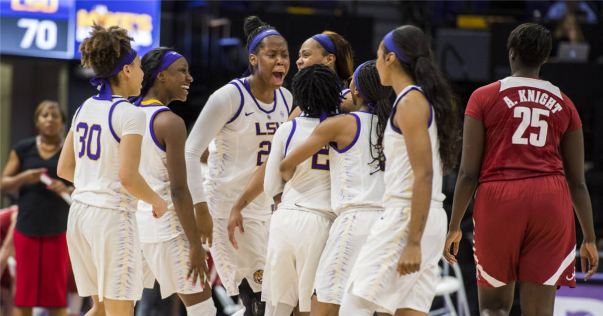 LSU Tigers on Womens All SEC Basketball Team