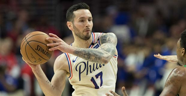 Report  J.J. Redick re-signs with 76ers on a one-year deal d5c924d7e