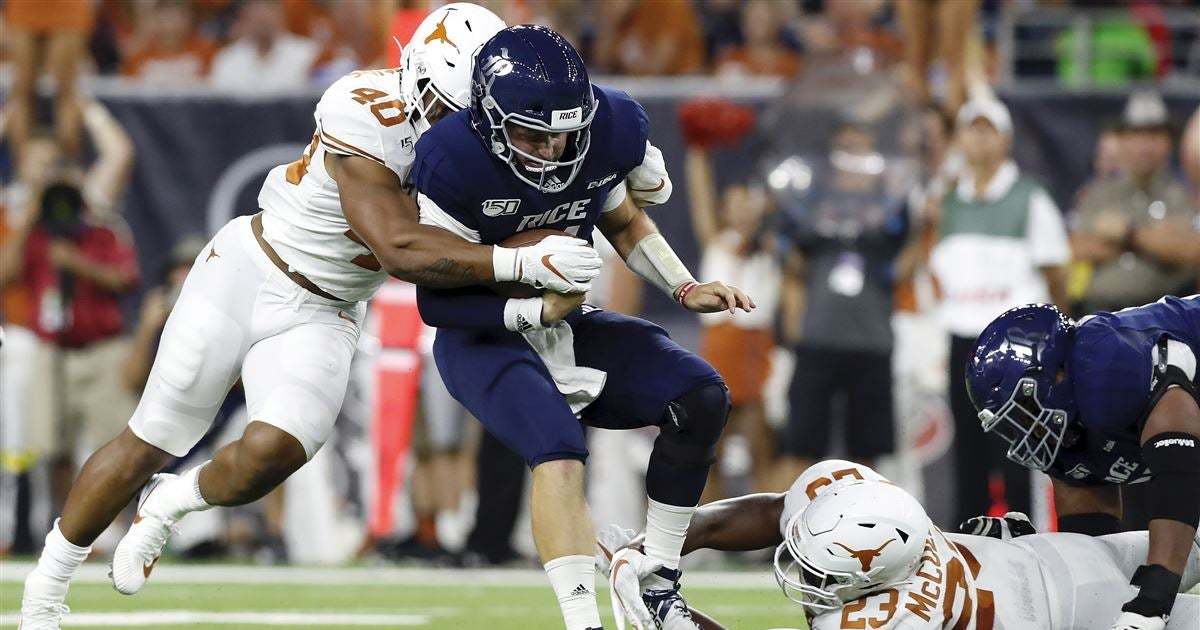 Numbers That Matter: What to know from a Texas win over Rice