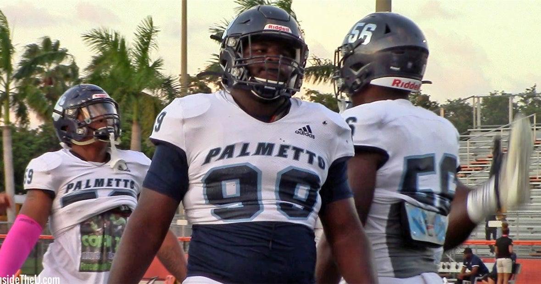 Miami commit DT Savion Collins showing strong progress