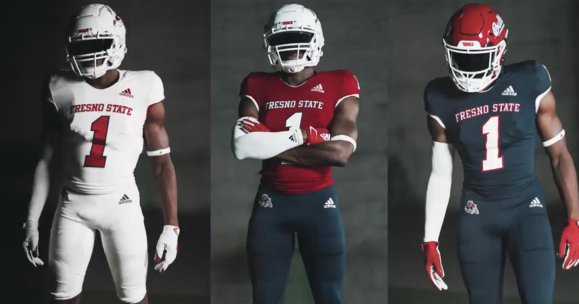 Fresno State reveals new football uniforms