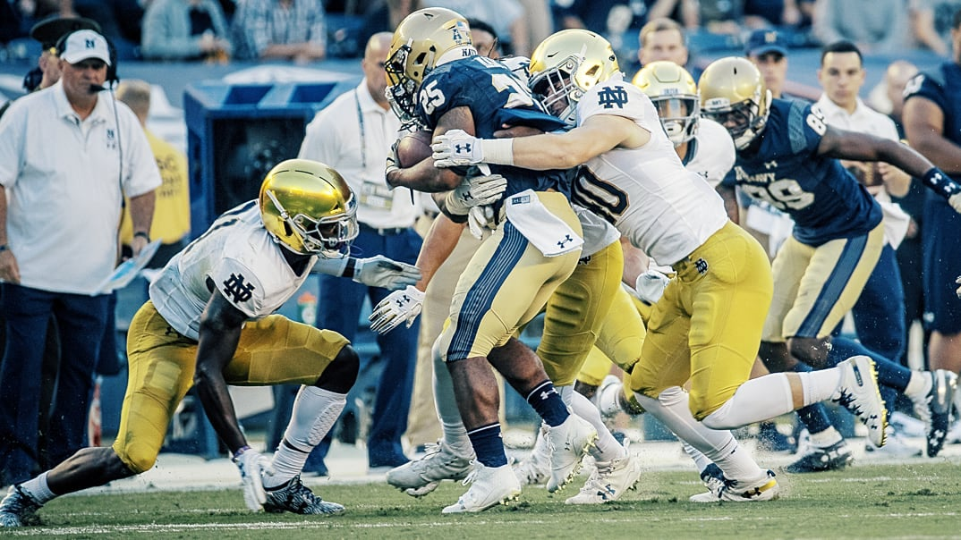 Who And What To Watch: Navy at Notre Dame