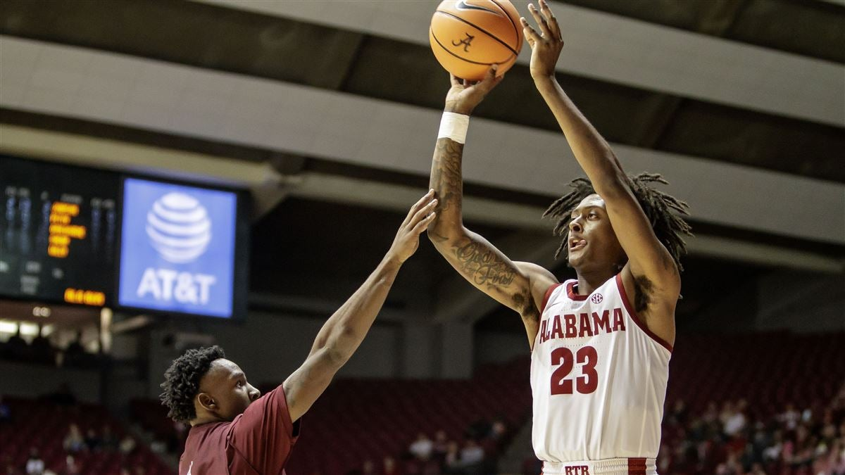 RECAP: Tide torches Alabama A&M behind Petty's record night
