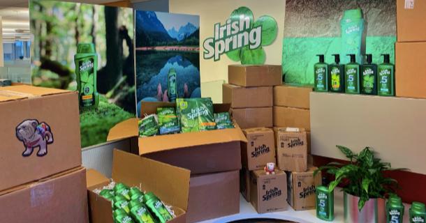 LOOK: Irish Spring soap trolls Georgia