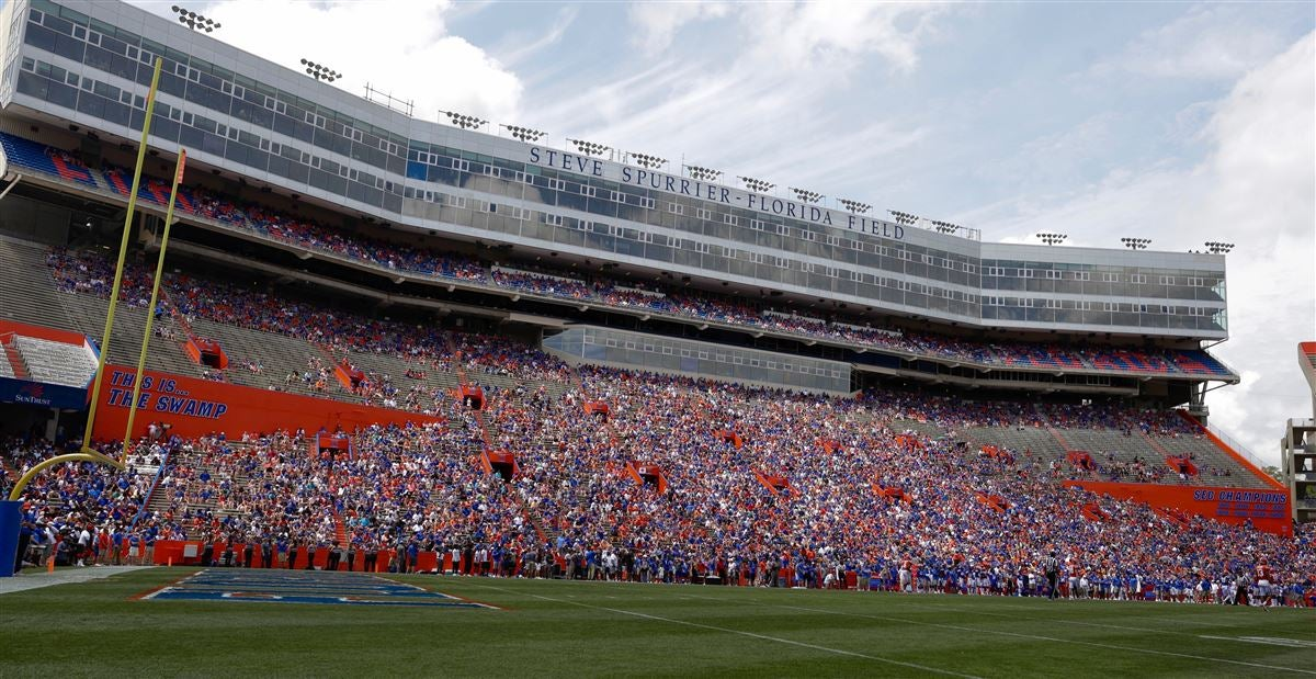 Confirmed visitors at UF vs Tennessee