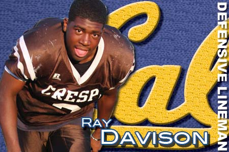 brand new 43ec4 e2ee5 Ray Davison, California, Outside Linebacker