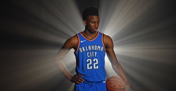 sports shoes c31de 89e51 Hamidou Diallo comments on being rookie with Thunder