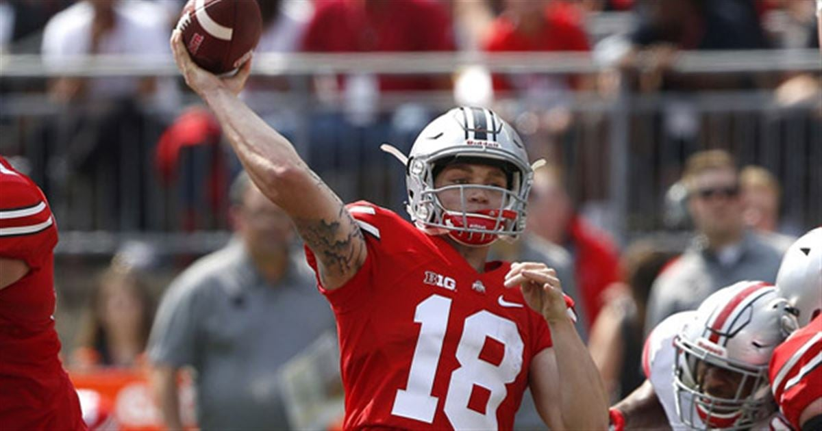 Ohio State Freshman Quarterback Tate Martell Is Turning