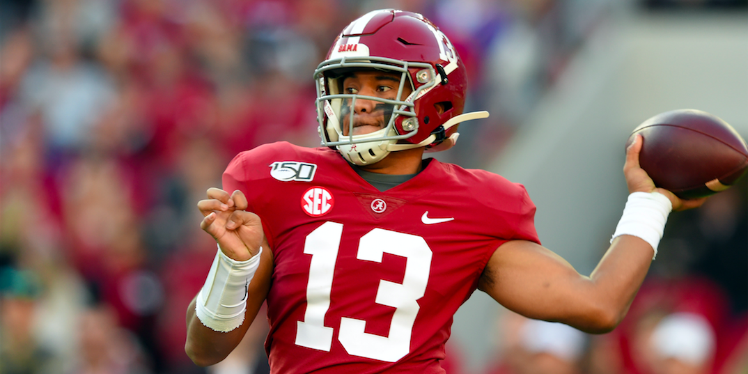 Tua Tagovailoa in 'good spirits' as he begins road to recovery