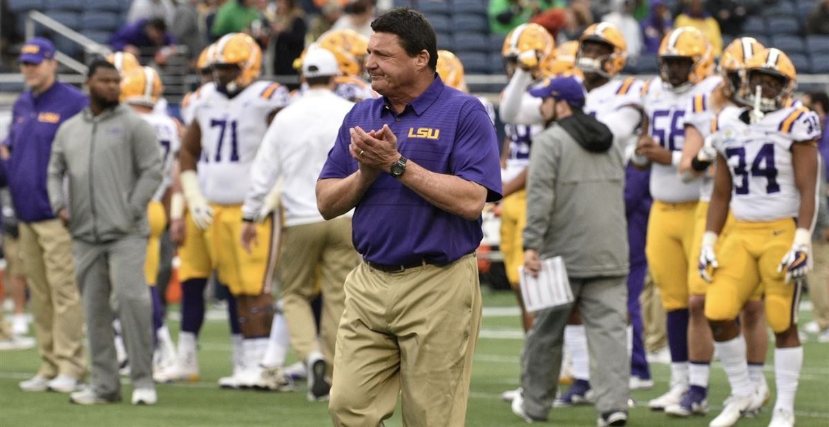 Post-spring rankings: Where LSU opponents are ranked