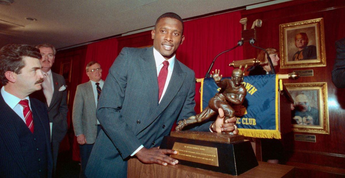 Tim Brown's 1987 Heisman Trophy sale sets record auction price