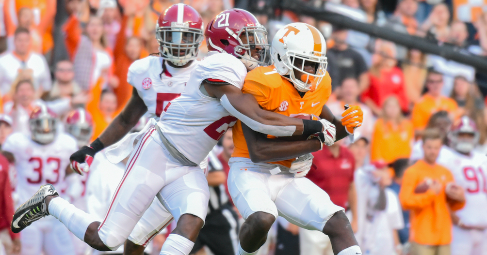 Alabama opens as more than a 30-point favorite over Tennessee