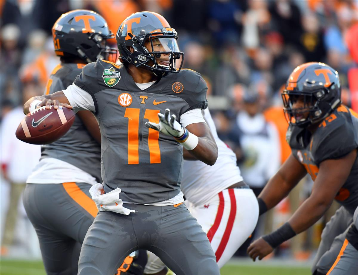 huge selection of 64ddf 3d41e Joshua Dobbs, Jacksonville, Dual-Threat Quarterback