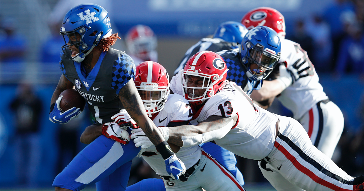 Kickoff time, TV finalized for Kentucky-Georgia