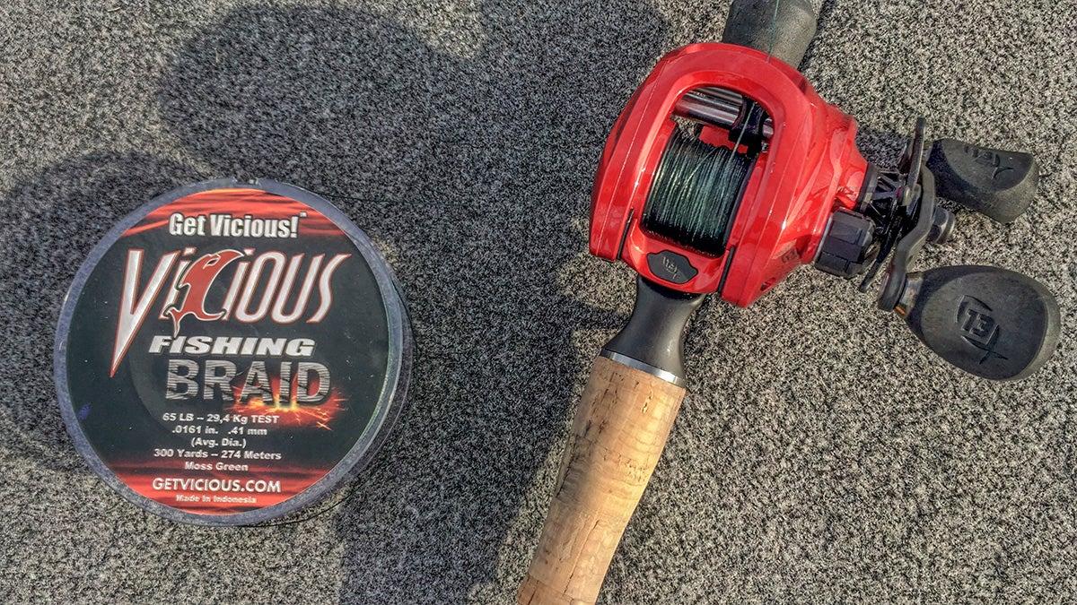 Vicious Braid Fishing Line Review