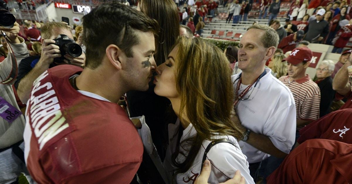the girlfriends of college football stars