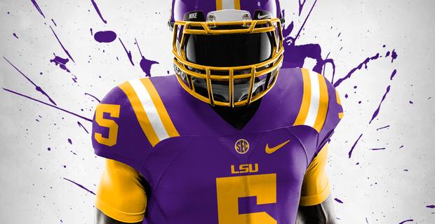 Non-Football Universities given Football Uniform Concepts